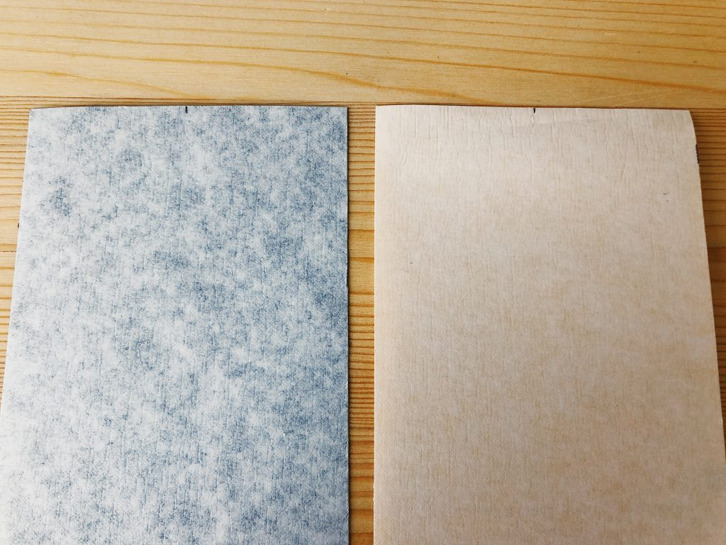 Image is showing two pieces of book cloths