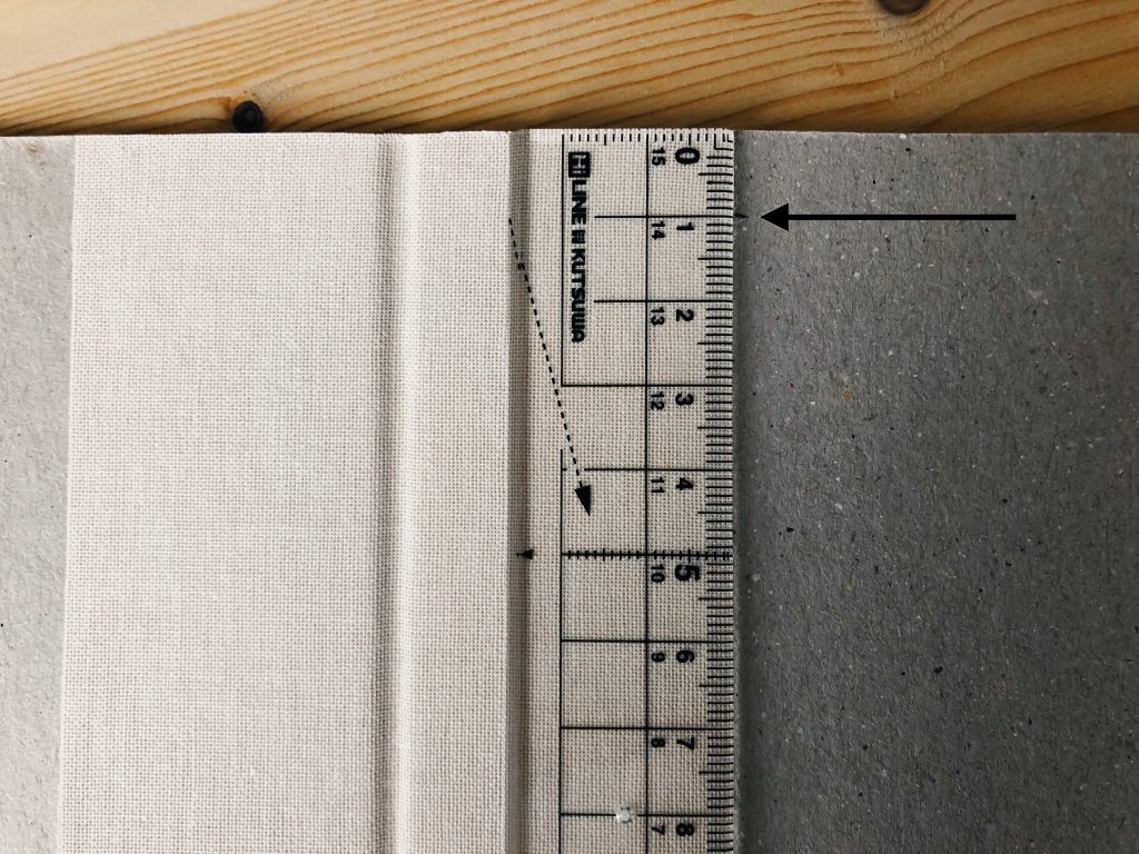 Images shows how to measure